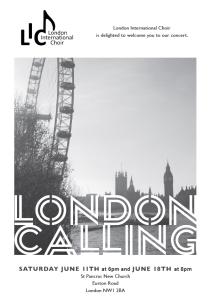 London Calling design