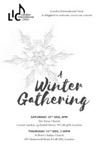 Winter Gathering design